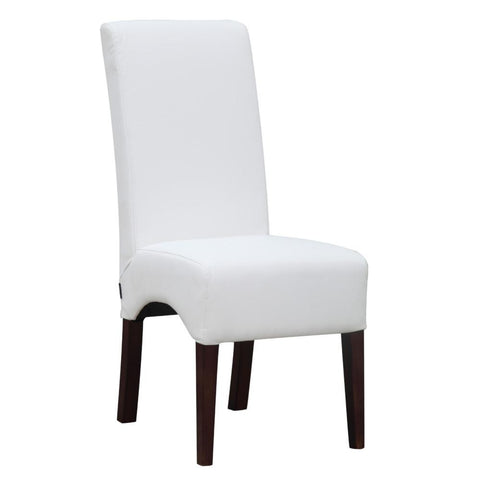 Fine Mod Imports FMI10155-white Dinata Dining Chair, White - Peazz.com - 1