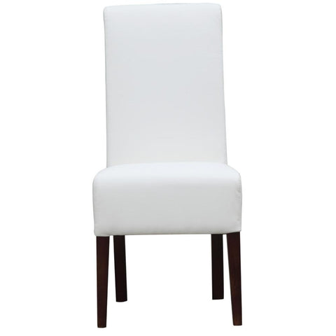 Fine Mod Imports FMI10155-white Dinata Dining Chair, White - Peazz.com - 6