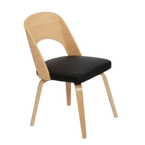 Fine Mod Imports FMI10169-black Bendino Dining Chair, Black - Peazz.com - 1