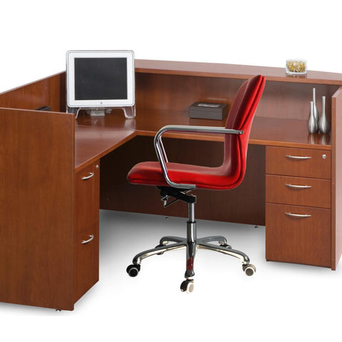 Fine Mod Imports FMI10170-red Confreto Conference Office Chair Mid Back, Red - Peazz.com - 7