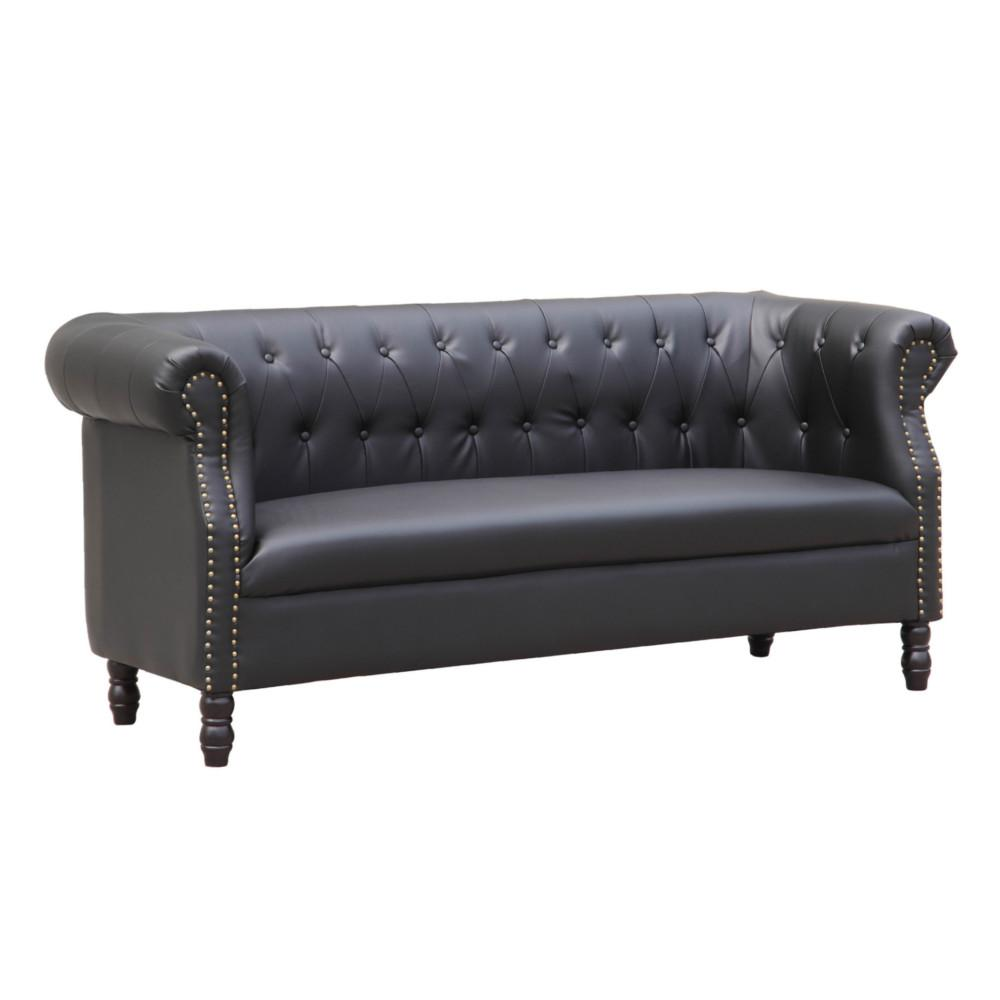 Fine Mod Sofa Black Chester