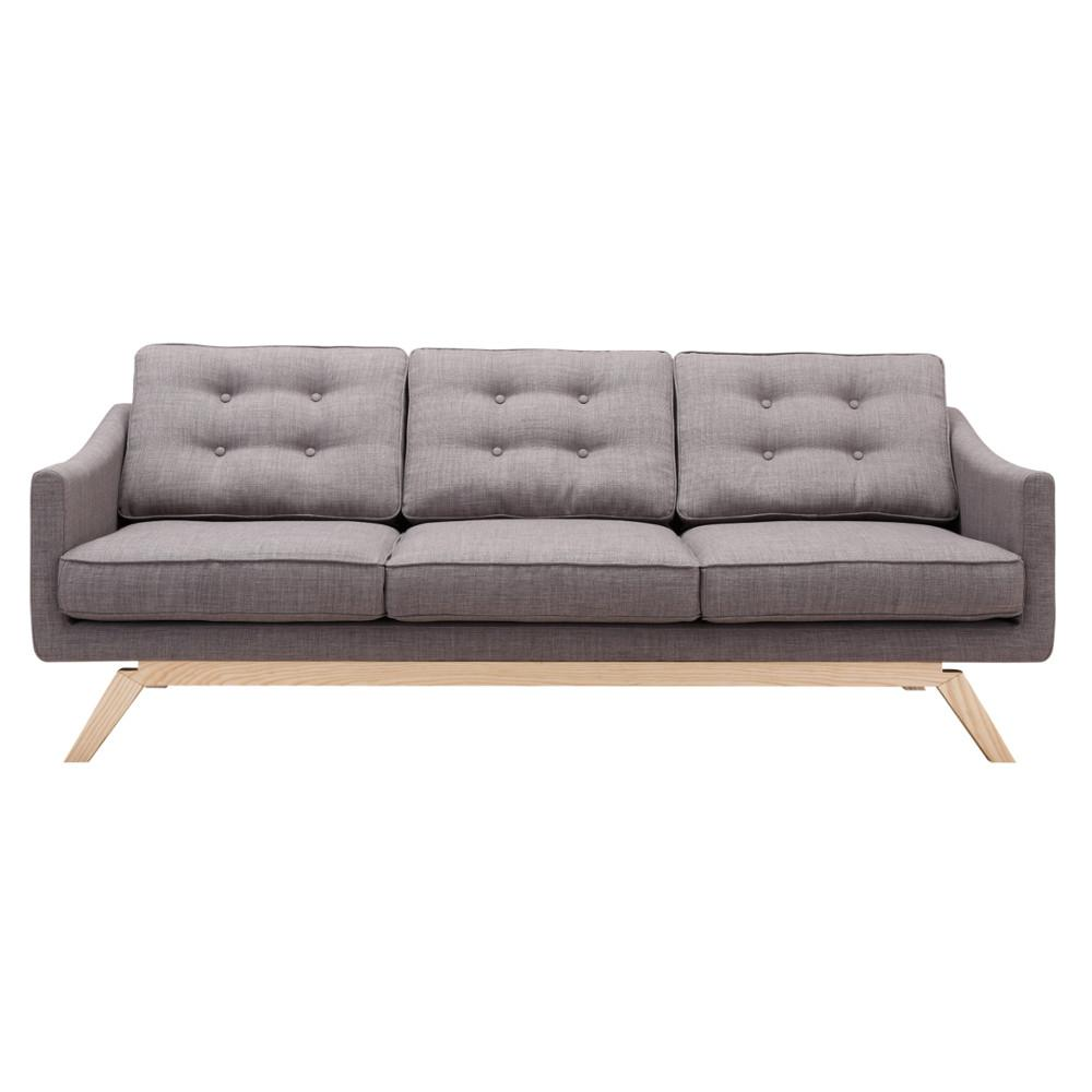 Sofa Sofa Gray Barsona Photo