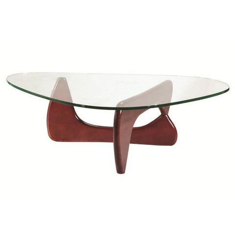 Fine Mod Imports FMI1119-cherry Tribeca Coffee Table, Cherry - Peazz.com - 1