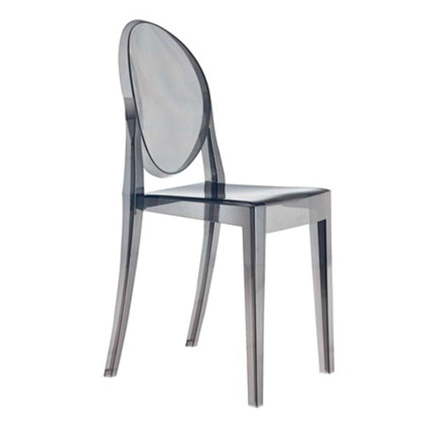 Fine Mod Imports FMI1127-smoke Smoke Side Chair, Smoke - Peazz.com