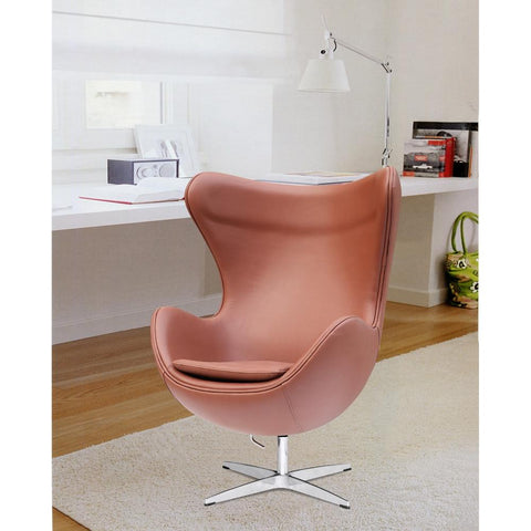 Fine Mod Imports FMI1131-ltbrown Inner Chair Leather, Light Brown - Peazz.com - 7