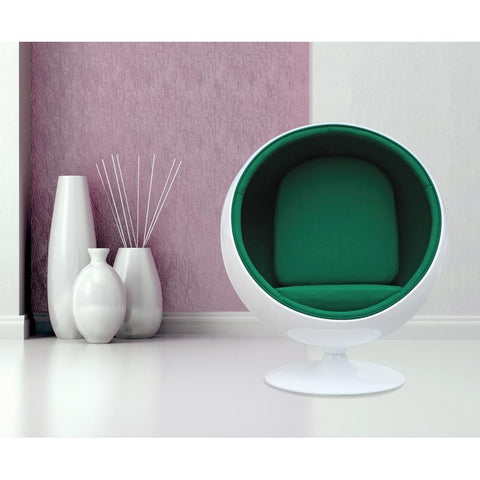 Fine Mod Imports FMI1150-green Ball Chair, Green - Peazz.com - 7