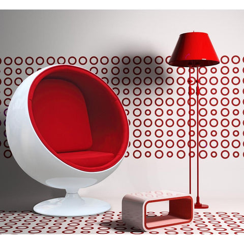 Fine Mod Imports FMI1150-red Ball Chair, Red - Peazz.com - 7