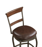 American Heritage Billiards 130179 Riverton Bar Height Stool - BarstoolDirect