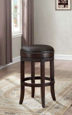 American Heritage Billiards 130185 Portofino Bar Height Stool in Sierra