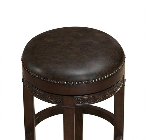 American Heritage Billiards 126185 Portofino Counter Height Stool in Sierra - BarstoolDirect