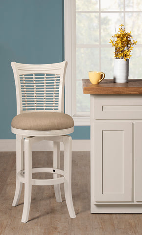 Hillsdale 5791-826 Bayberry Swivel Counter Stool