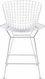 Zuo Modern 188018 Wire Counter Chair Color Chrome Chromed Steel Finish - Set of 2 - BarstoolDirect.com - 3