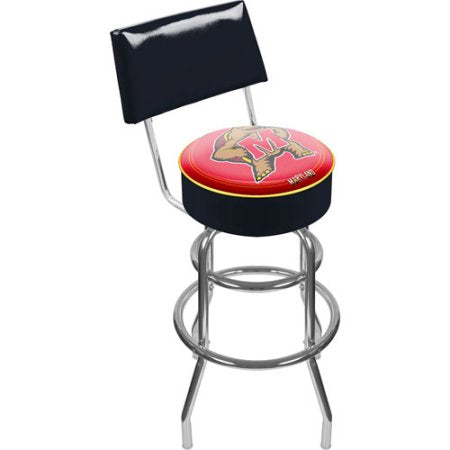 Maryland University Clc1100-Md Maryland University Padded Bar Stool With Back
