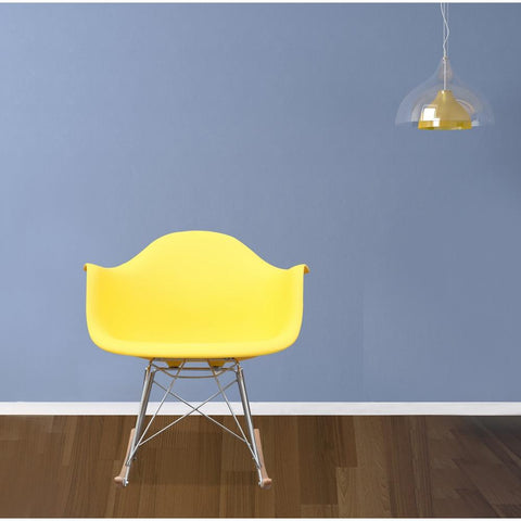 Fine Mod Imports FMI2013-yellow Rocker Arm Chair, Yellow - Peazz.com - 7