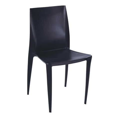 Fine Mod Imports FMI2015-black Square Dining Chair, Black - Peazz.com