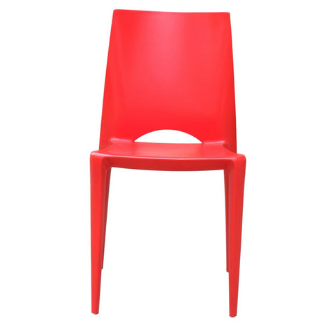 Fine Mod Imports FMI2015-red Square Dining Chair, Red - Peazz.com - 6