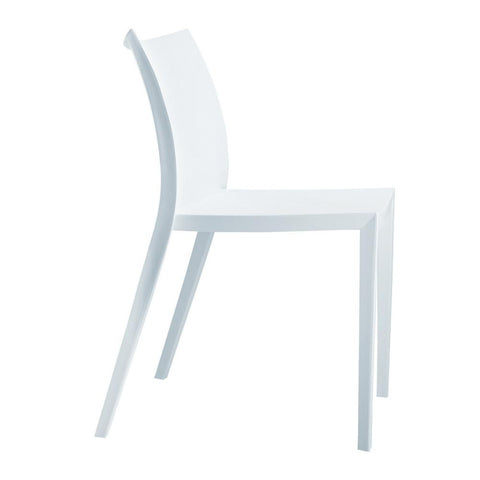 Fine Mod Imports FMI2015-white Square Dining Chair, White - Peazz.com - 1