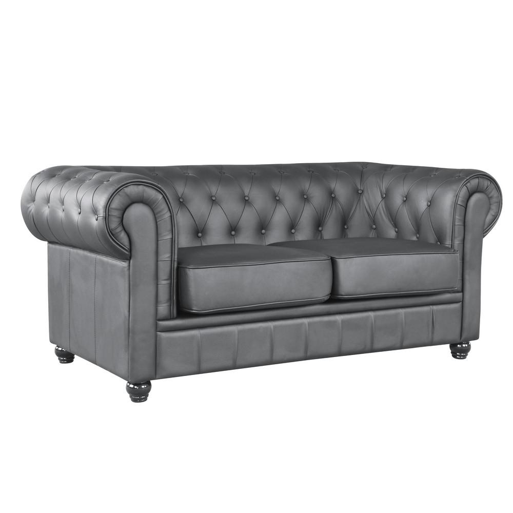 Loveseat Black 17888 Product Photo