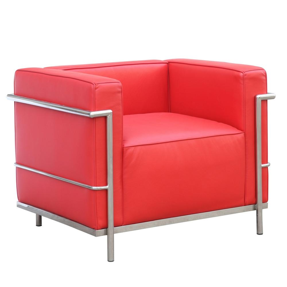 Fine Mod Lc Chair Red Grand