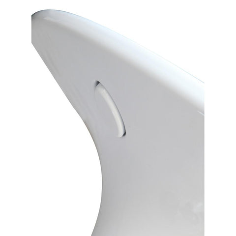 Fine Mod Imports FMI2212-white Razzle Counter Table, White - Peazz.com - 6