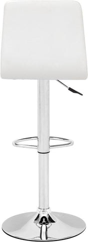 Zuo Modern 301351 Oxygen Bar Chair Color White Chromed Steel Finish - BarstoolDirect.com - 4