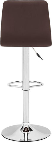 Zuo Modern 301352 Oxygen Bar Chair Color Espresso Chromed Steel Finish - BarstoolDirect.com - 4