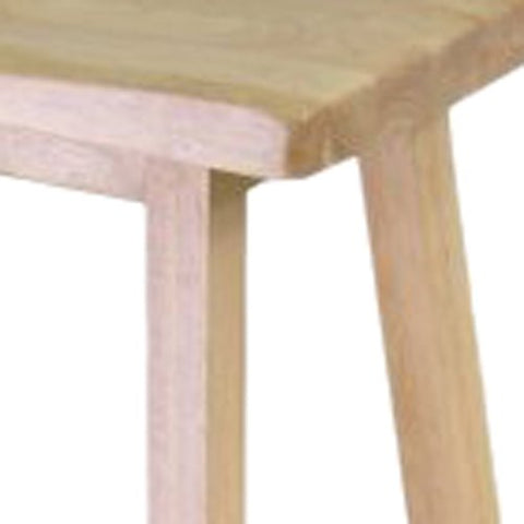 "Winsome Wood 84084 Saddle Seat 24"" Stool, Single, RTA"