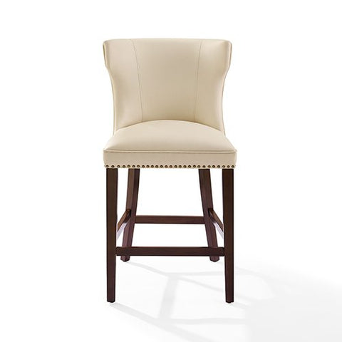 Tilson Counter Stool with Creme Cushion