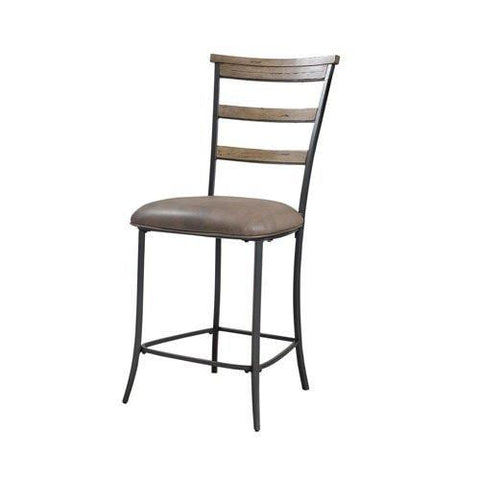 Hillsdale 4670-825 Charleston Ladder Back Non-Swivel Stool - HillsdaleSuperStore