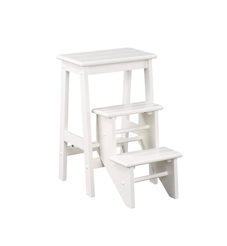 "Boraam 24"" Step Stool - White 36324"
