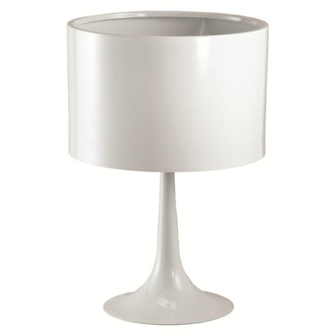 Fine Mod Imports FMI4000-white Tulip Table Lamp, White - Peazz.com - 1