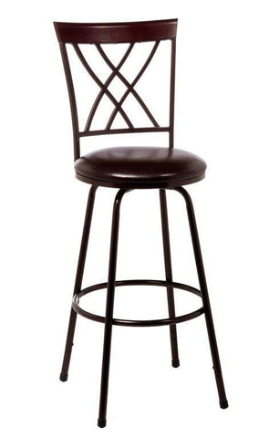 Hillsdale Furniture 5350-831 Northland Swivel Counter/Bar Stool with Nested Leg - HillsdaleSuperStore