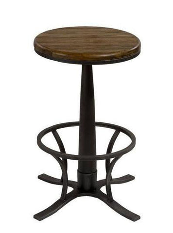 Hillsdale Furniture 5441-833 Rivage Backless Swivel Bar Stool - HillsdaleSuperStore