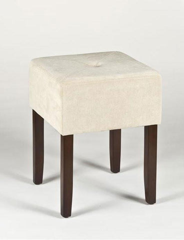 Hillsdale Furniture 55240 Bellamy Backless Vanity Stool - HillsdaleSuperStore