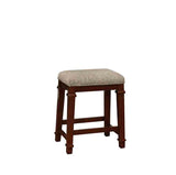 Linon 558121TWD01U Kennedy Backless Tweed Counter Stool