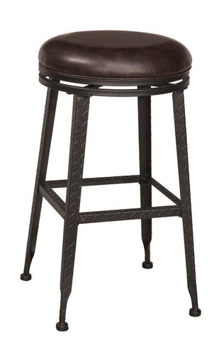 Hillsdale Furniture 5793-826 Hale Backless Swivel Counter Stool