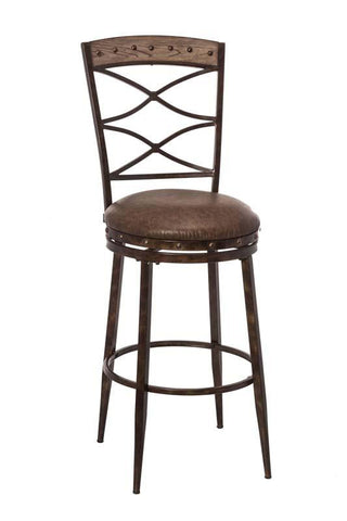 Hillsdale Furniture 5984-826 Emmons Swivel Counter Stool