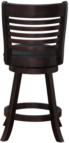 "Boraam 63624 24"" Tierra Swivel Counter Stool - BarstoolDirect.com - 3"
