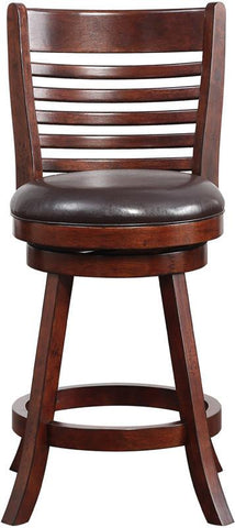 "Boraam 63724 24"" Tierra Swivel Counter Stool - BarstoolDirect.com - 1"