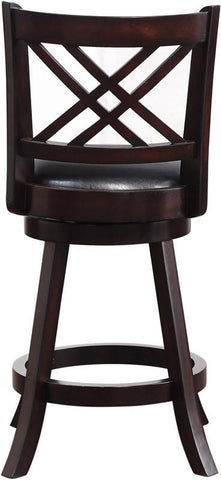 "Boraam 65624 24"" Porto Swivel Counter Stool - BarstoolDirect.com - 4"
