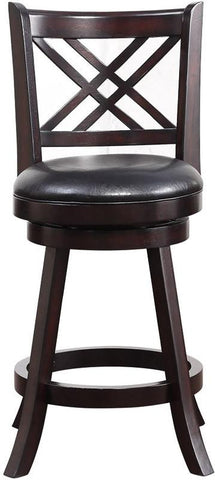 "Boraam 65624 24"" Porto Swivel Counter Stool - BarstoolDirect.com - 1"
