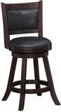 "Boraam 66624 24"" Rhea Swivel Counter Stool - BarstoolDirect.com - 2"