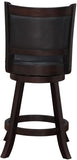 "Boraam 66624 24"" Rhea Swivel Counter Stool - BarstoolDirect.com - 3"