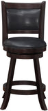 "Boraam 66624 24"" Rhea Swivel Counter Stool - BarstoolDirect.com - 1"