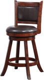 "Boraam 66724 24"" Rhea Swivel Counter Stool - BarstoolDirect.com - 2"