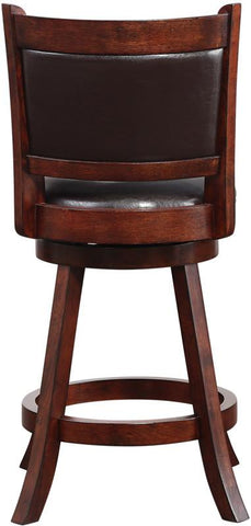 "Boraam 66724 24"" Rhea Swivel Counter Stool - BarstoolDirect.com - 4"