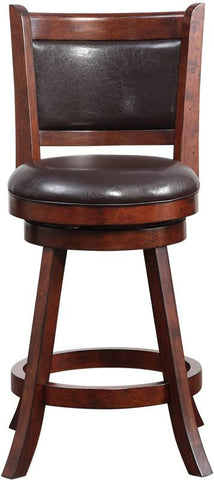 "Boraam 66724 24"" Rhea Swivel Counter Stool - BarstoolDirect.com - 1"