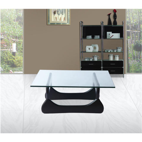 Fine Mod Imports FMI8005-black Guchi Coffee Table, Black - Peazz.com - 7
