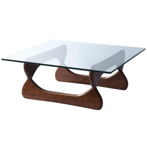 Fine Mod Imports FMI8005-walnut Guchi Coffee Table, Walnut - Peazz.com - 1