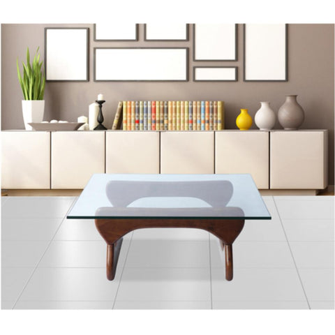Fine Mod Imports FMI8005-walnut Guchi Coffee Table, Walnut - Peazz.com - 7